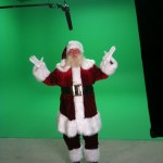 Santa Greenscreen shoot