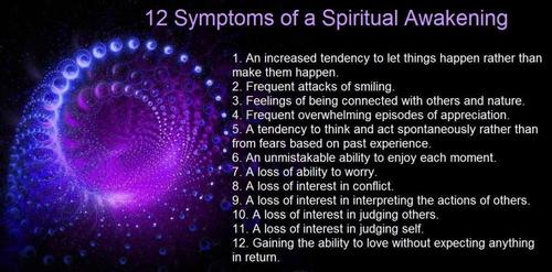 12 Symtoms of Awakening