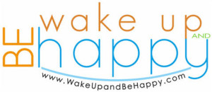 Wake Up and be Happy Logo